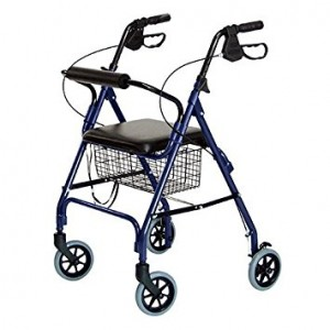 4 Wheeled Walker by Lumex | At Pacific Medical Supply Salem Oregon - Manual Mobility