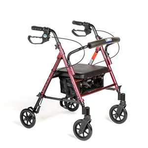 4 Wheeled Walker | At Pacific Medical Supply Salem Oregon - Manual Mobility