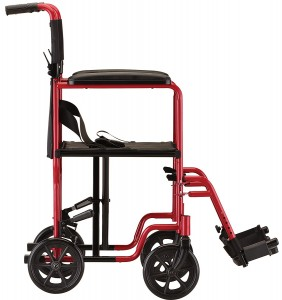 transport chair nova 319 - wheelchair rental - Manual Mobility